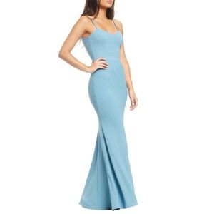 Dress the Population Jodi Crepe Evening Gown Dress